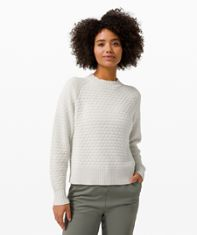 Texture Play Crew Sweater