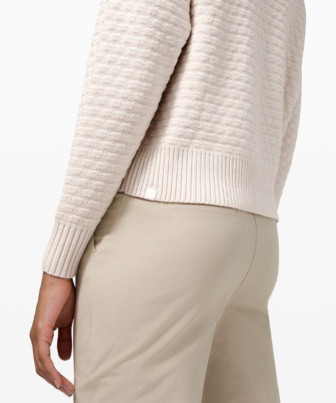 Texture Play Crew Sweater