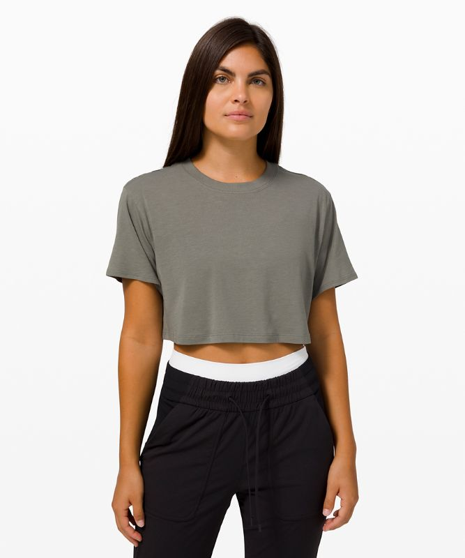 All Yours Crop Tee