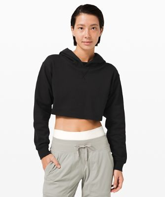 All Yours Cropped Hoodie