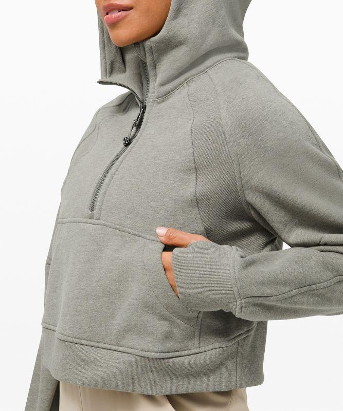 Scuba Oversized 1/2 Zip Hoodie