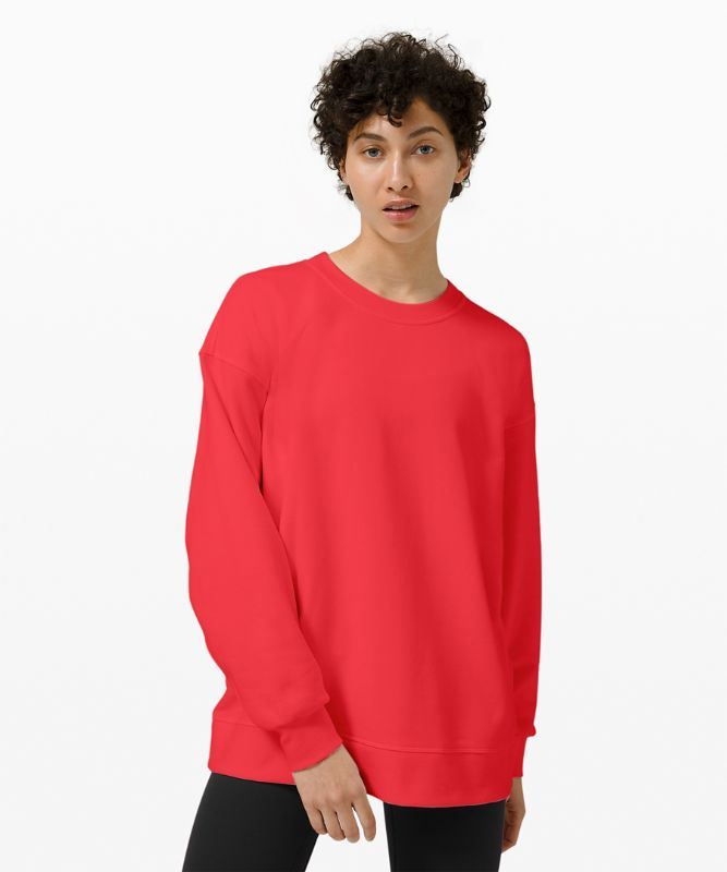 Pull col rond Perfectly Oversized