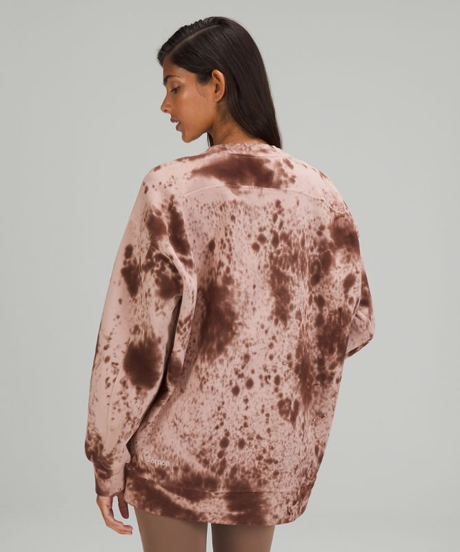 Pull col rond Perfectly Oversized *MDye