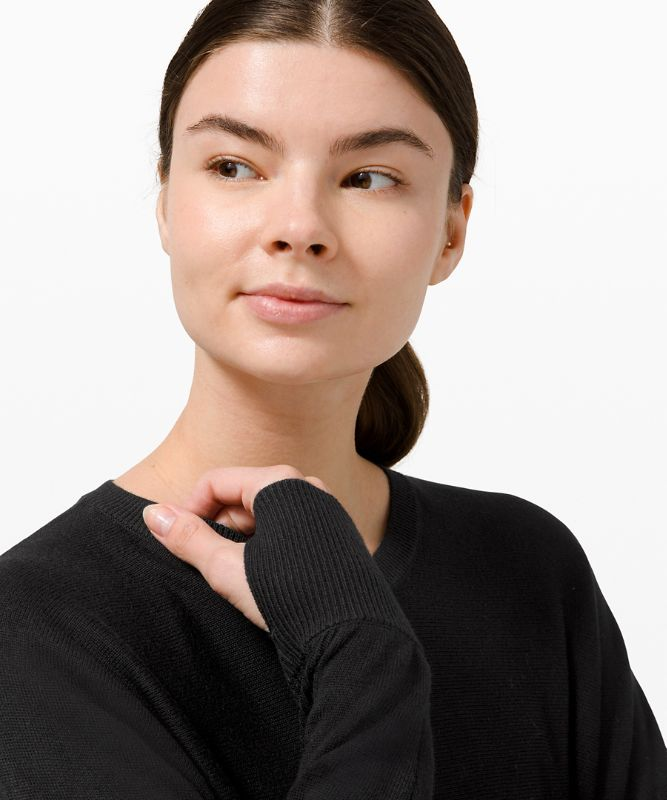 Cashlu� Knit Pullover