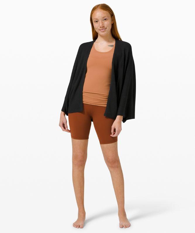 Cashlu� Knit Textured Wrap