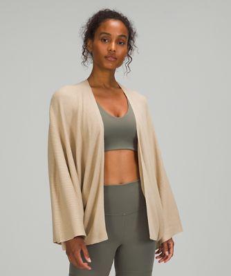 Cashlu™ Knit Textured Wrap