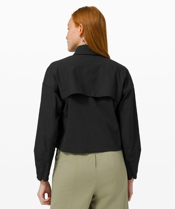 Zip-Up Shirt Jacket *Online Only