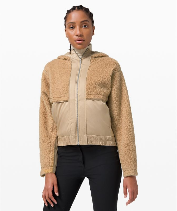Sherpa and Shine Jacket