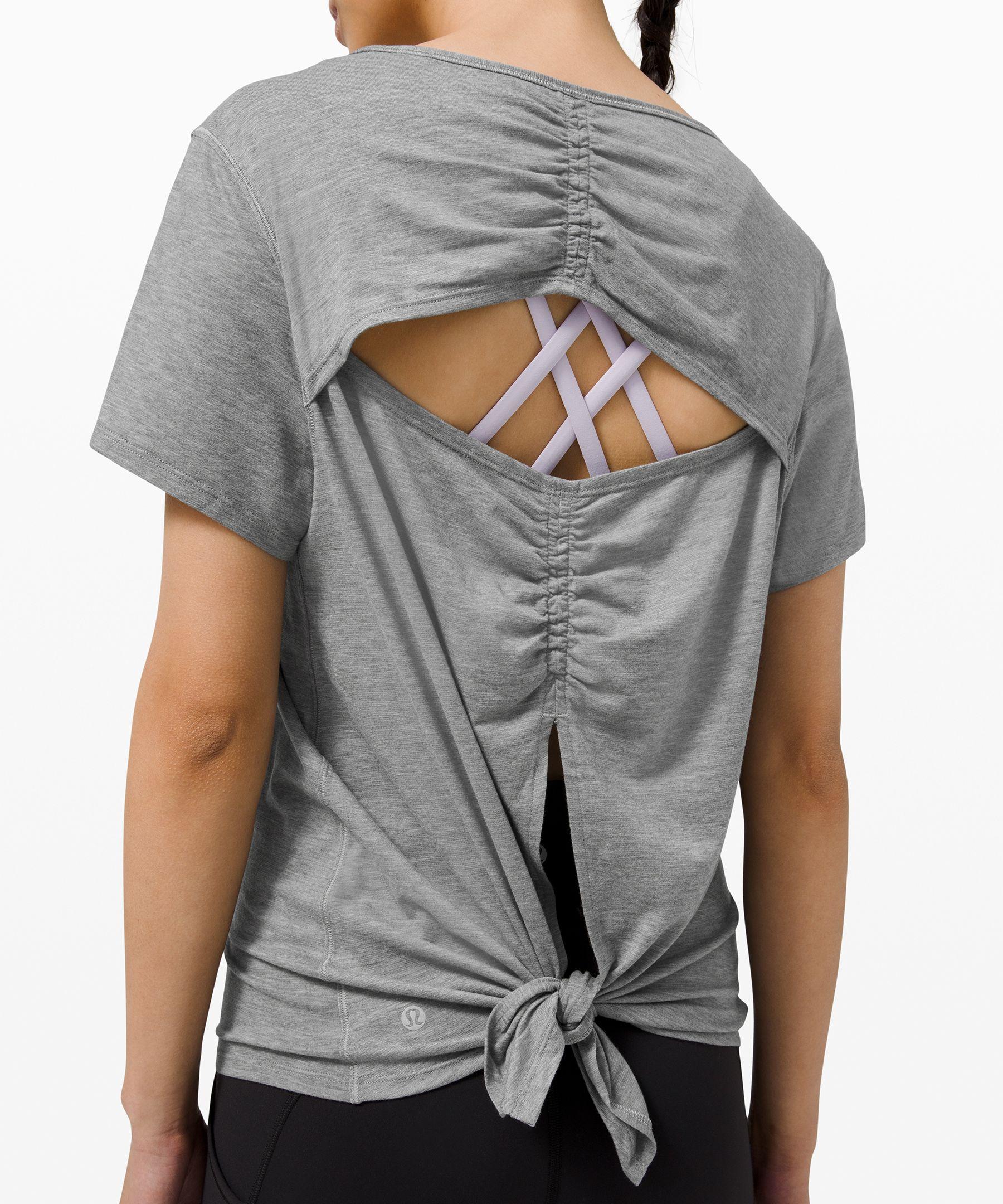 Cut Back Short Sleeve