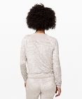 Pull col rond Warm Down *Crushed Velvet