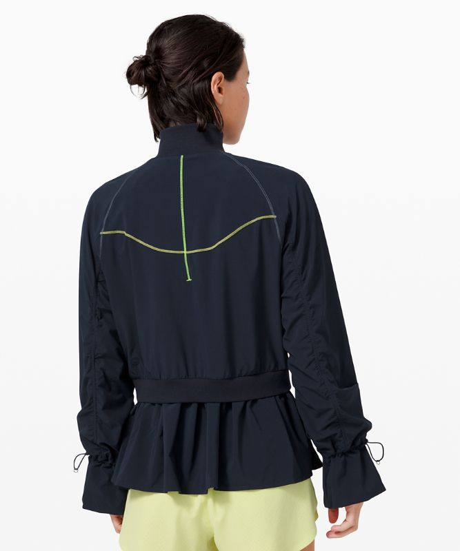Contoured Curves Full Zip