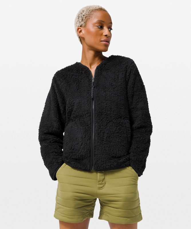Oh So Sherpa Full Zip