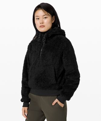 Oh So Sherpa Half Zip