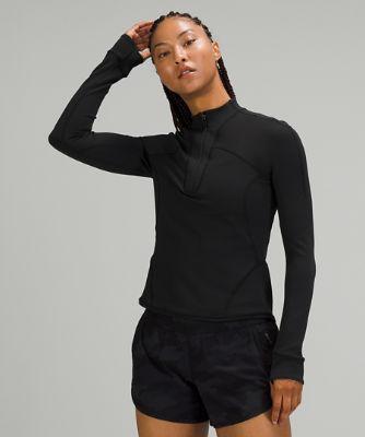 Rulu™ Running 1/2 Zip Long Sleeve