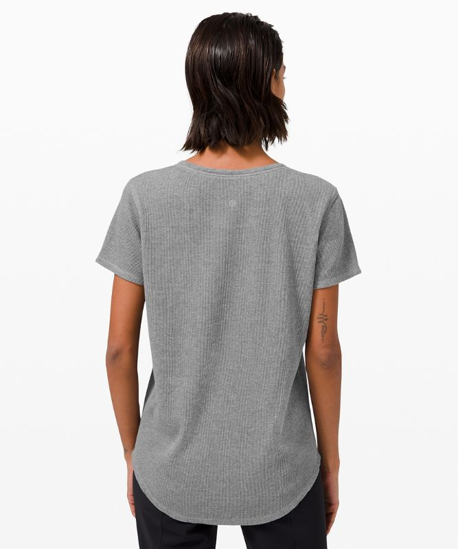 Love Crew Short Sleeve T-Shirt *Waffle