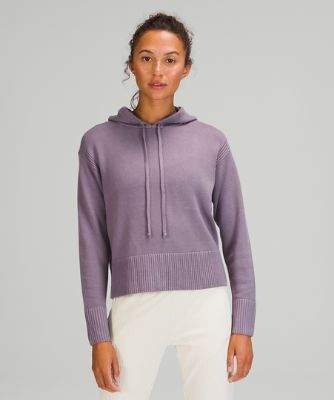 Double Knit Sweater Hoodie