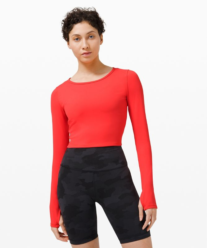 Wunder Train Cropped Long Sleeve