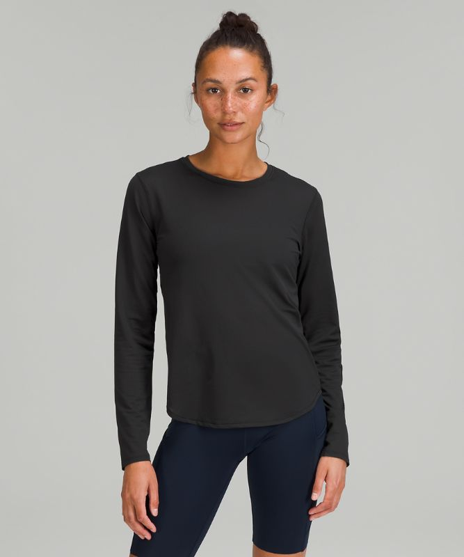 High Neck Running and Training Long Sleeve *Online Only