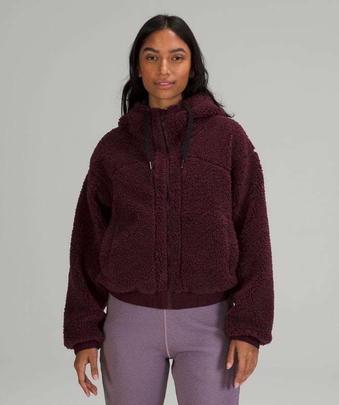 리버서블 플리스 재킷