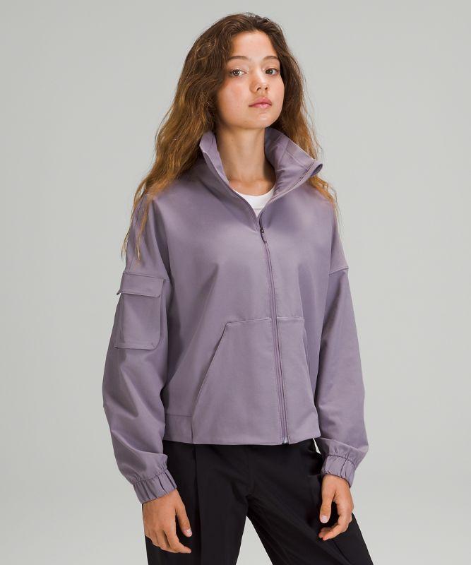 Cinched Hem Jacket
