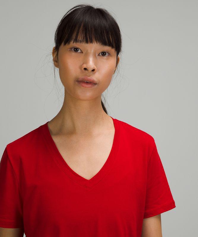Love Tee Short Sleeve V-Neck T-Shirt