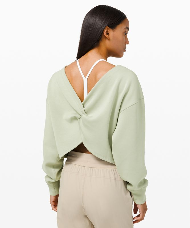 Twist Back-to-Front Pullover