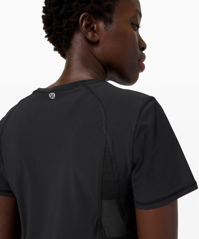 Mesh Panel Training Short Sleeve