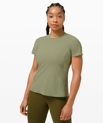 Mesh Panel Training Short Sleeve