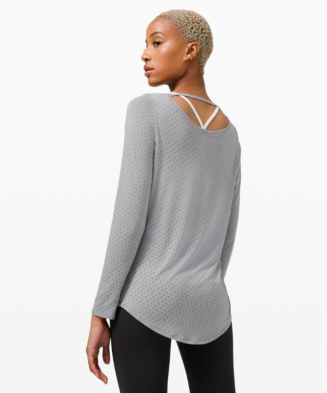 Wide Neck Yoga Long Sleeve