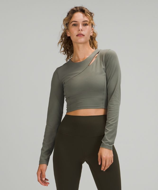 Aligned Angles Long Sleeve