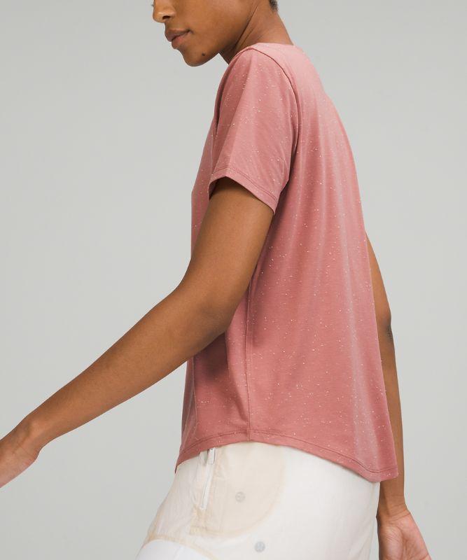 Love Tee Short Sleeve Shirt V-Neck T-Shirt *Slub