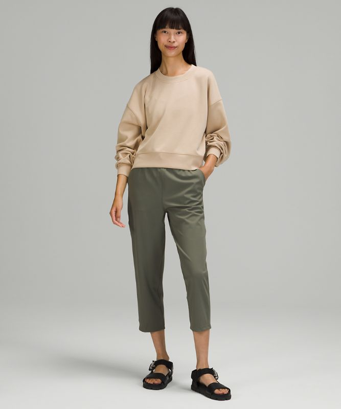 Perfectly Oversized Cropped Crew *Softstreme™