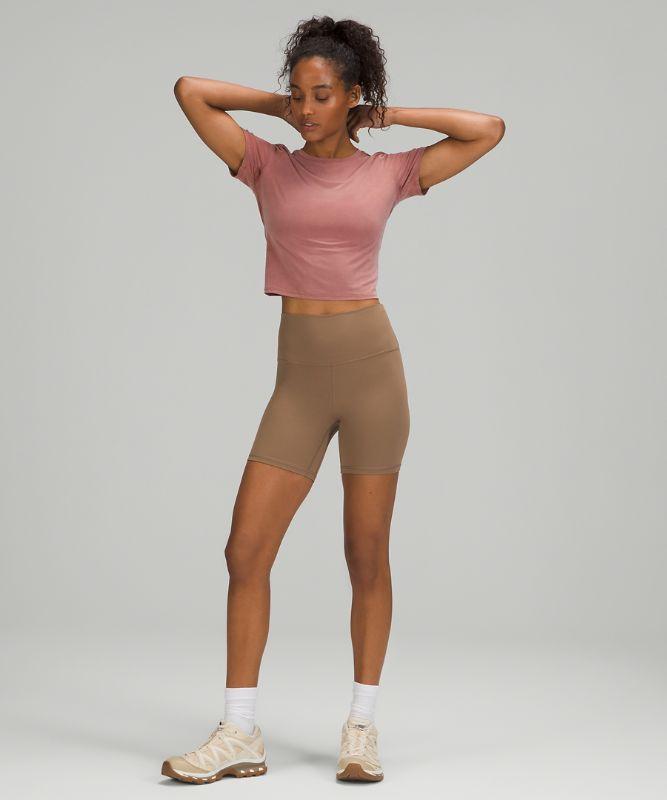 Open Tie-Back Short Sleeve