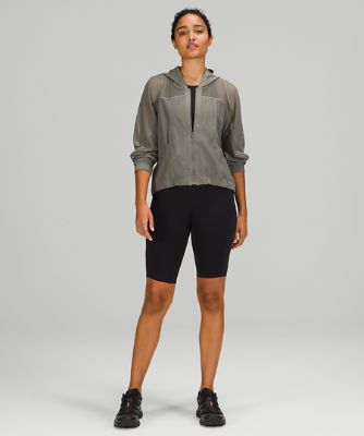 Relaxed Fit Mesh Jacket