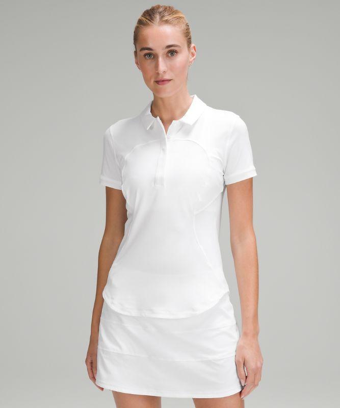 Schnelltrocknendes Kurzarm-Poloshirt
