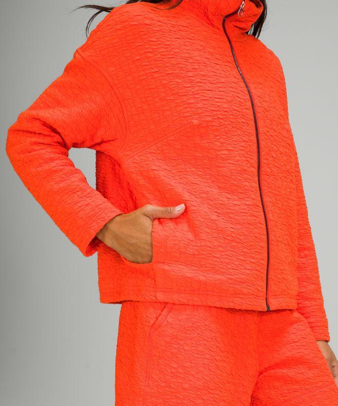 Rippled Full Zip Jacket