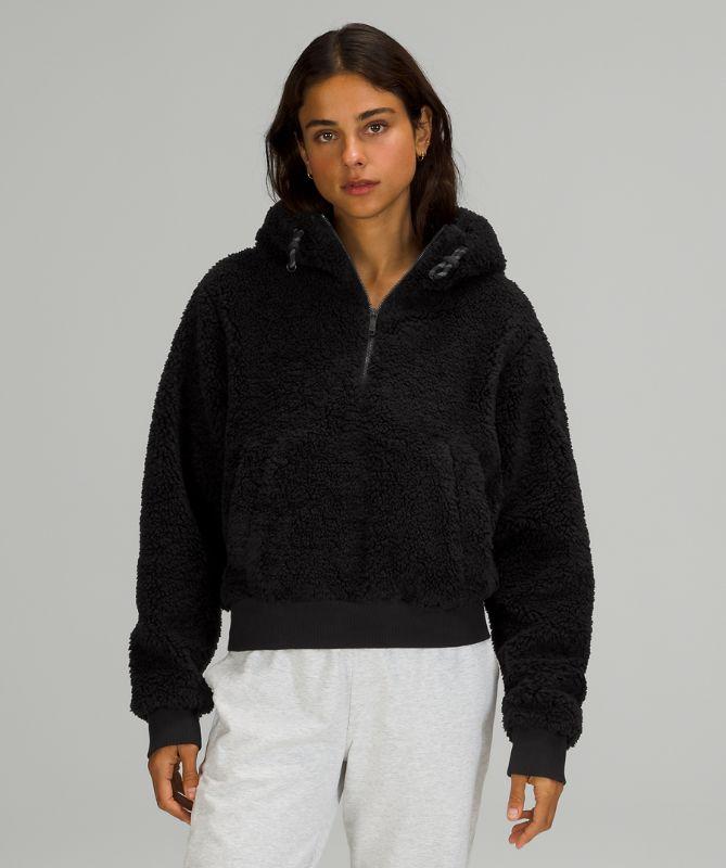 Textured Fleece 1/2 Zip