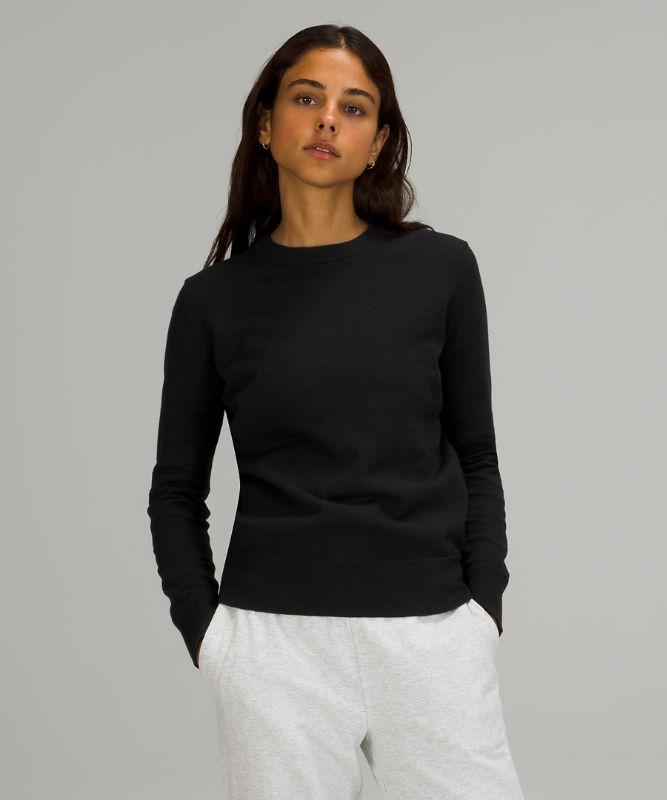 Cotton-Cashmere Blend Sweater