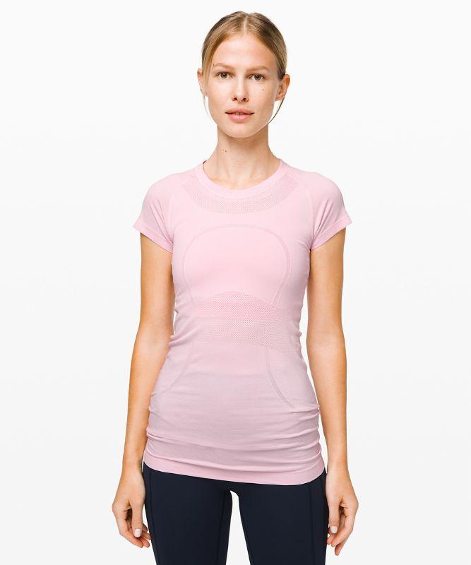 Swiftly Tech Kurzarm-Shirt Rundhals