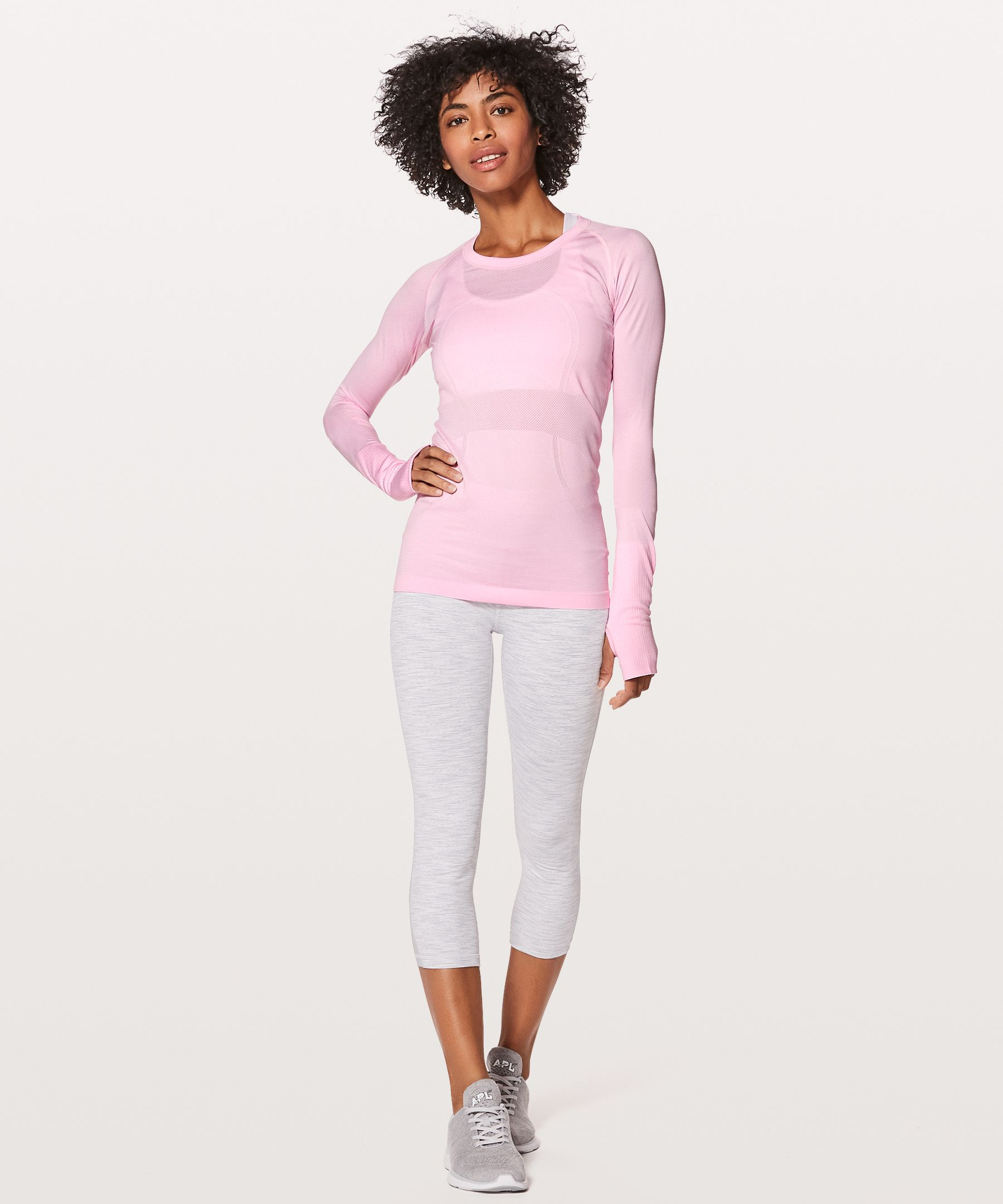 Swiftly Tech Long Sleeve Crew New | Tuggl