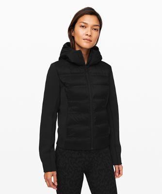 다운 앤 어라운드 재킷, BLACK