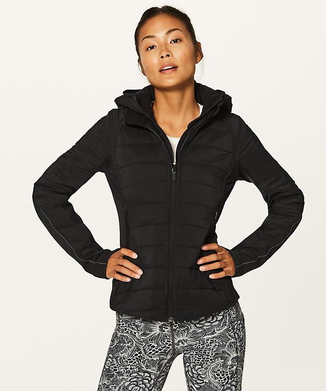 Black Extra Mile Jacket