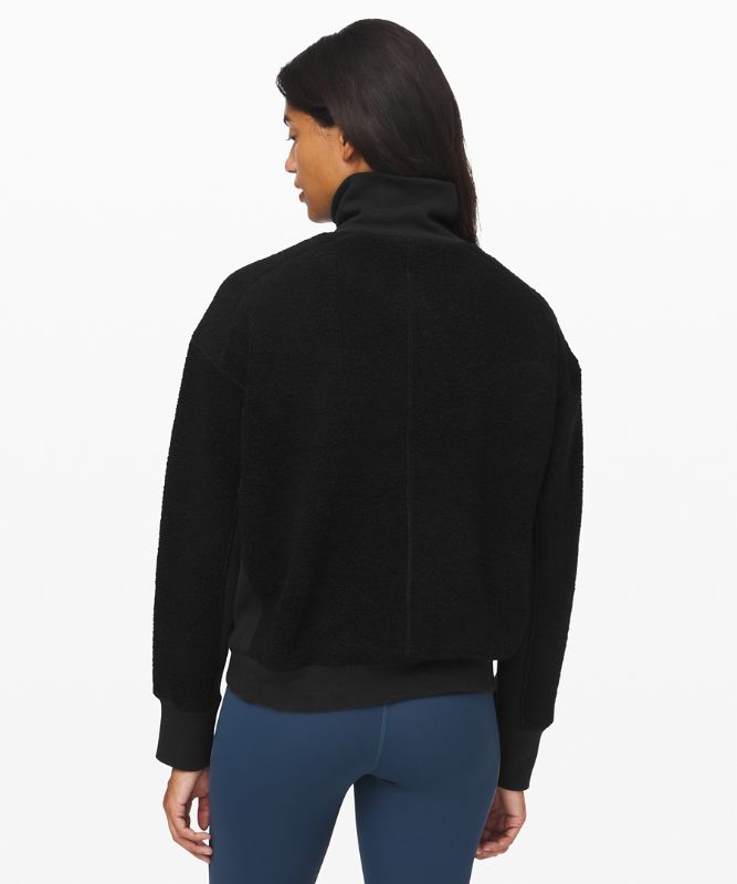 Stand Out Sherpa 1/2 Zip