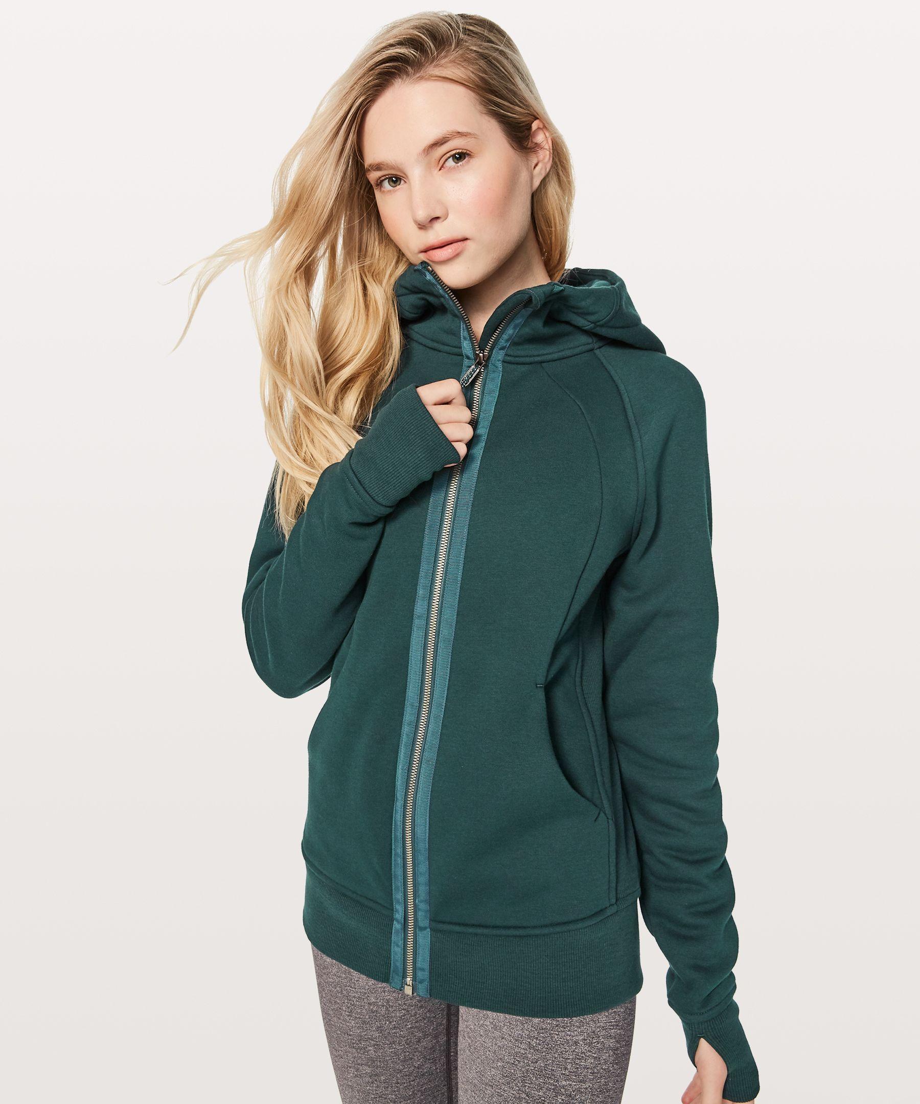 Lululemon black winter jacket