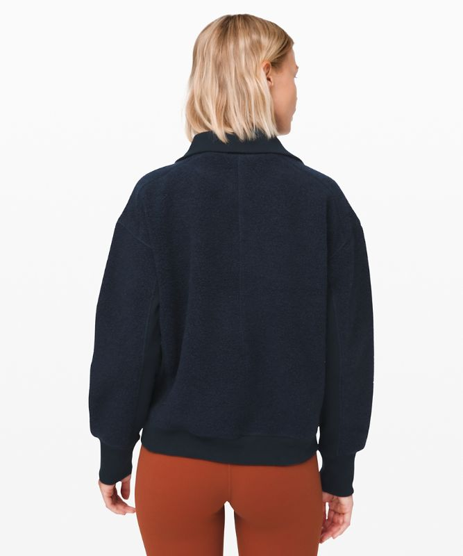 Stand Out Sherpa Half Zip