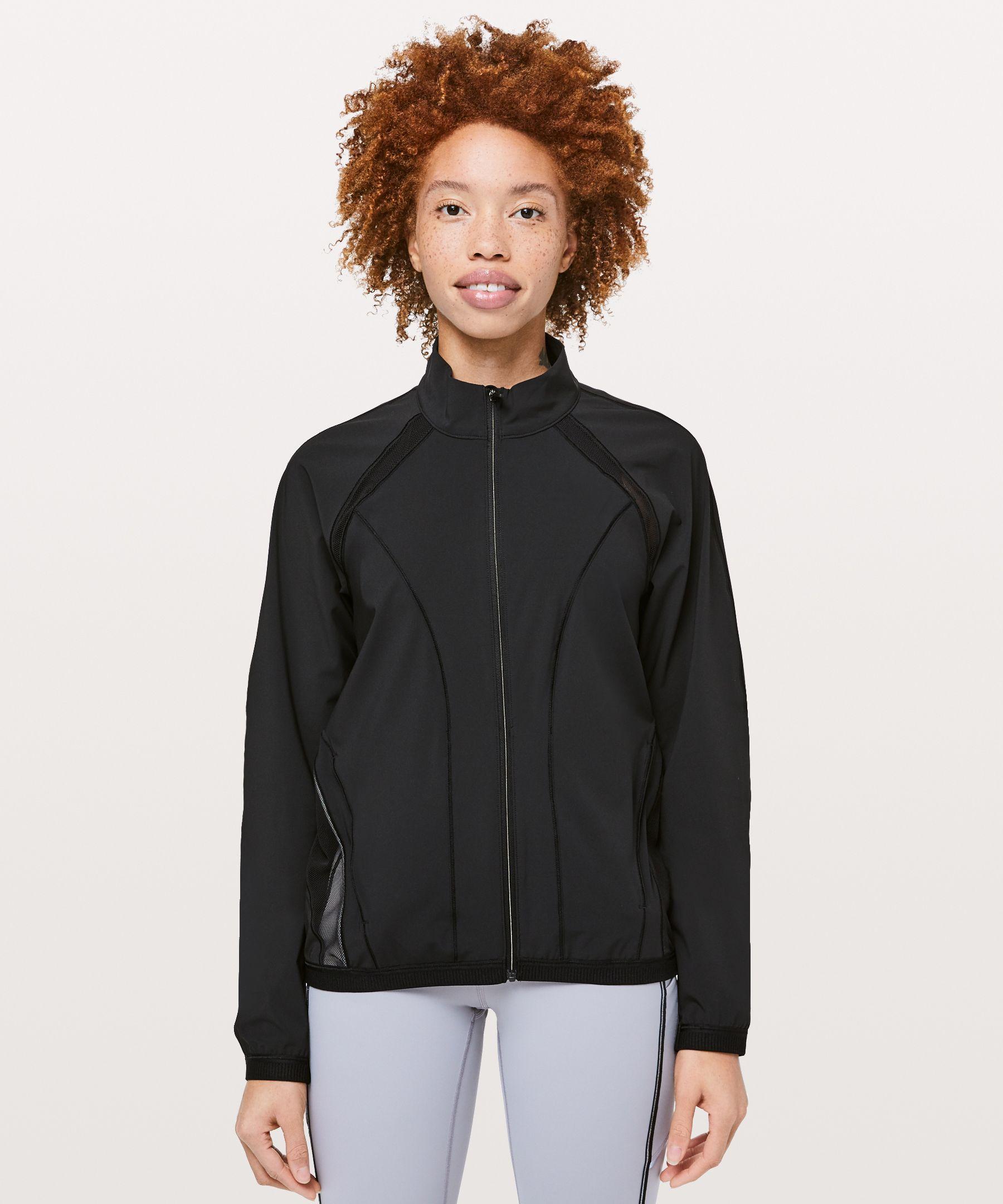 Lululemon Breeze In Jacket In Black