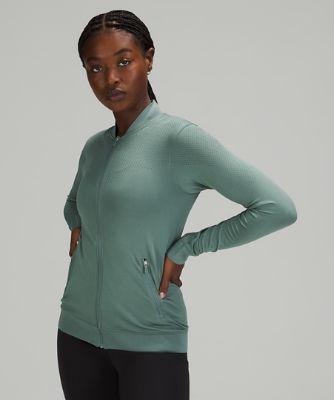 Manteau d'entraînement sans couture