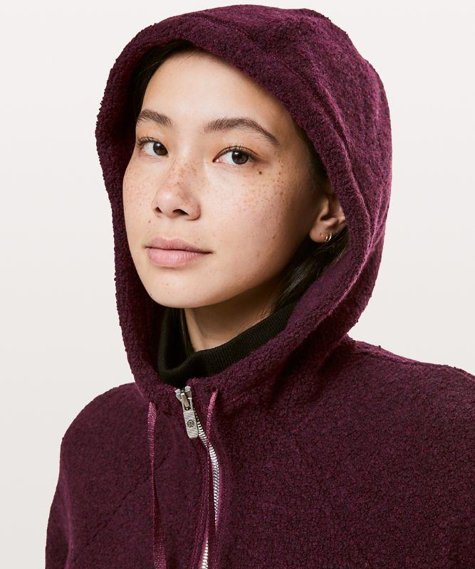 So Sherpa Hooded Jacket