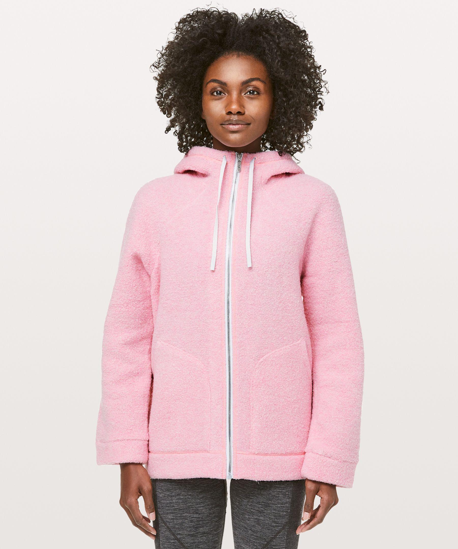 So Sherpa Hooded Jacket by Lululemon
