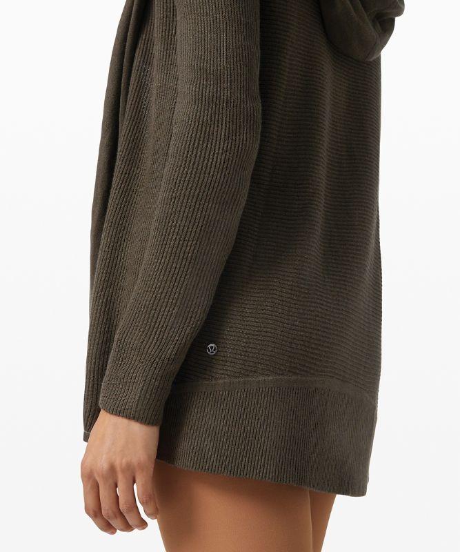 Sundown Sweater-Wrap